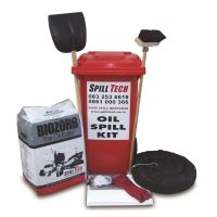 Oil Wheely Bin Spill Kit 240L